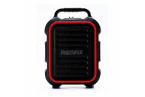 REMAX Song K outdoor portablae Bluetooth Speaker RB-X3 black-red podrobno